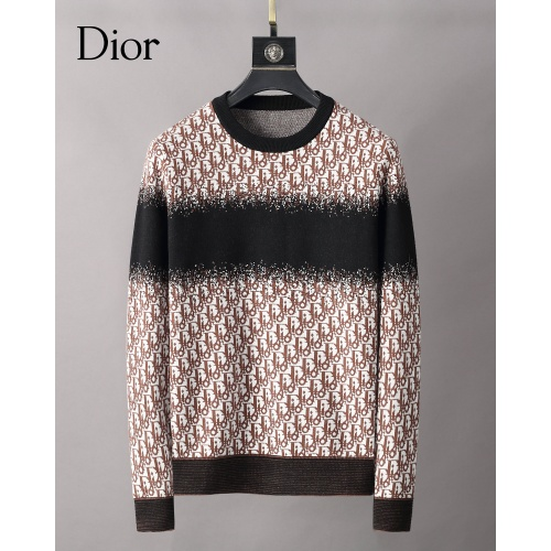 Christian Dior Sweaters Long Sleeved O-Neck For Men #827916 $42.00, Wholesale Replica Christian Dior Sweaters