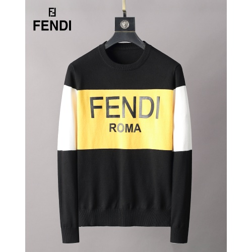 Fendi Sweaters Long Sleeved O-Neck For Men #827917