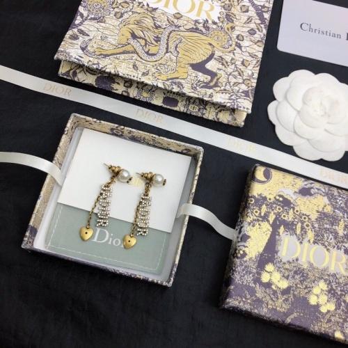 Christian Dior Earrings #828024 $32.00 USD, Wholesale Replica Christian Dior Earrings