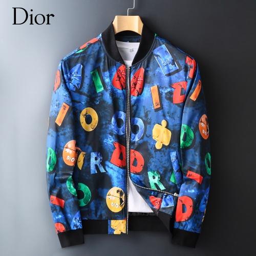Christian Dior Jackets Long Sleeved Zipper For Men #828052