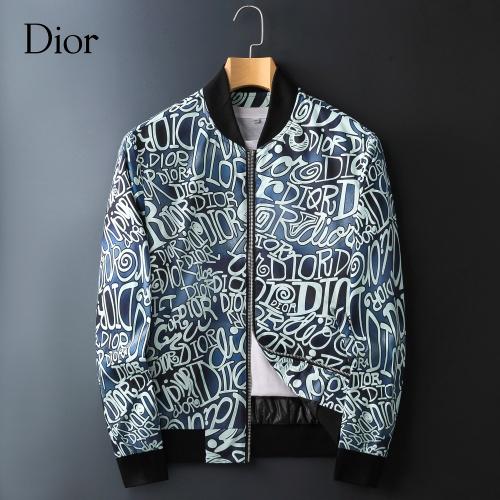Christian Dior Jackets Long Sleeved Zipper For Men #828057