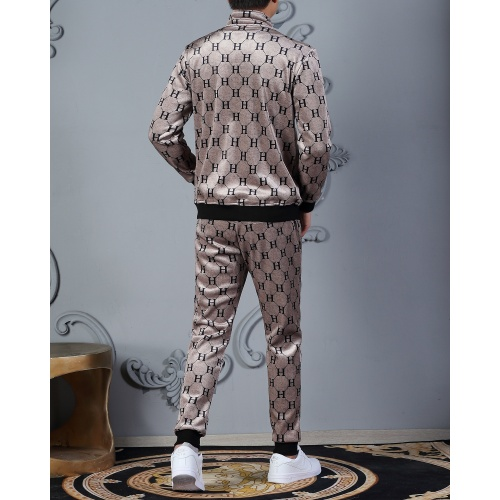 Replica Hermes Tracksuits Long Sleeved Zipper For Men #828060 $102.00 USD for Wholesale