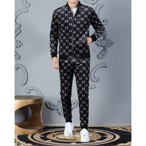 Replica Hermes Tracksuits Long Sleeved Zipper For Men #828061 $102.00 USD for Wholesale