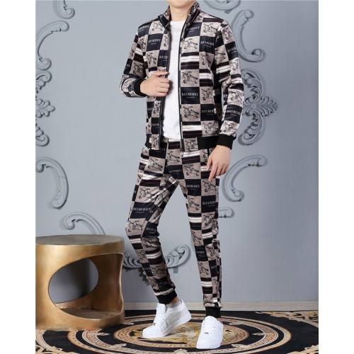 Burberry Tracksuits Long Sleeved Zipper For Men #828067