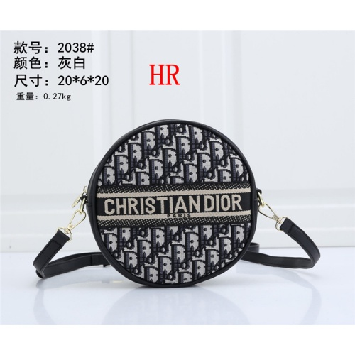 Replica Christian Dior Messenger Bags For Women #828074 $29.00 USD for Wholesale