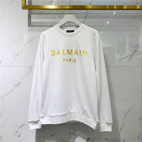 Balmain Hoodies Long Sleeved O-Neck For Men #828097