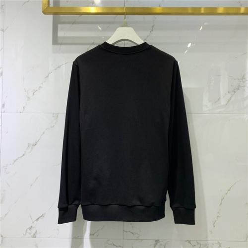 Replica Balmain Hoodies Long Sleeved O-Neck For Men #828098 $61.00 USD for Wholesale