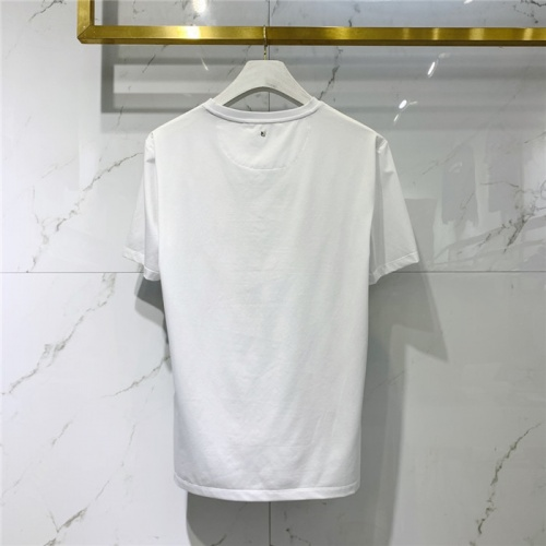 Replica Valentino T-Shirts Short Sleeved O-Neck For Men #828104 $41.00 USD for Wholesale