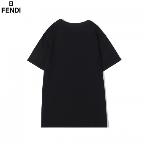 Replica Fendi T-Shirts Short Sleeved O-Neck For Men #828105 $29.00 USD for Wholesale