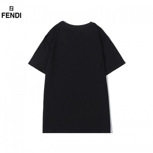 Replica Fendi T-Shirts Short Sleeved O-Neck For Men #828108 $29.00 USD for Wholesale