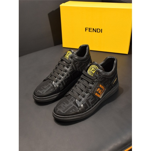 Fendi High Tops Casual Shoes For Men #828112