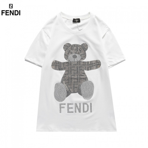 Fendi T-Shirts Short Sleeved O-Neck For Men #828113
