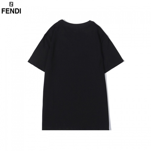 Replica Fendi T-Shirts Short Sleeved O-Neck For Men #828114 $32.00 USD for Wholesale