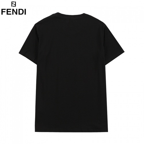 Replica Fendi T-Shirts Short Sleeved O-Neck For Men #828115 $27.00 USD for Wholesale