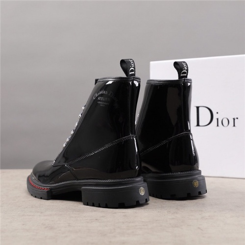 Replica Christian Dior Boots For Men #828317 $92.00 USD for Wholesale