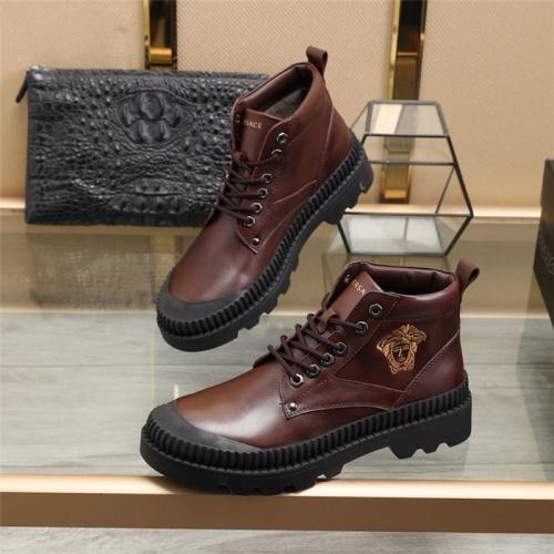 Versace Boots For Men #828337