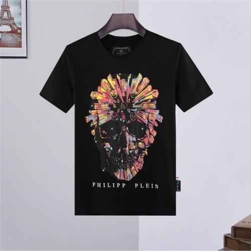 Philipp Plein PP T-Shirts Short Sleeved O-Neck For Men #828424