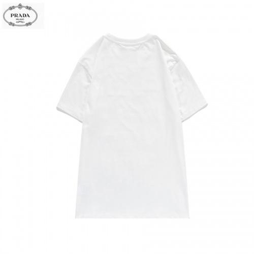 Replica Prada T-Shirts Short Sleeved O-Neck For Men #828468 $27.00 USD for Wholesale