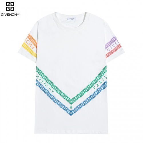 Givenchy T-Shirts Short Sleeved O-Neck For Men #828478 $29.00 USD, Wholesale Replica Givenchy T-Shirts