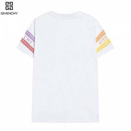 Replica Givenchy T-Shirts Short Sleeved O-Neck For Men #828478 $29.00 USD for Wholesale