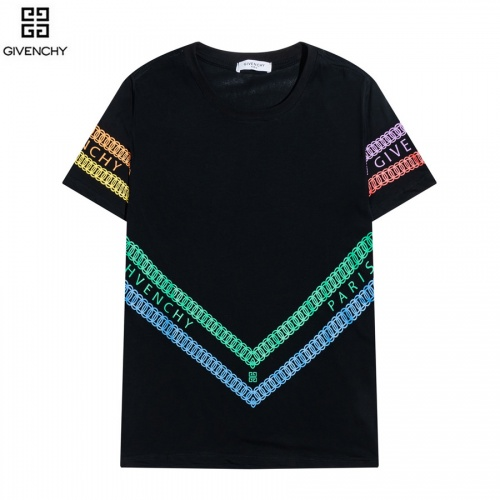 Givenchy T-Shirts Short Sleeved O-Neck For Men #828479 $29.00 USD, Wholesale Replica Givenchy T-Shirts