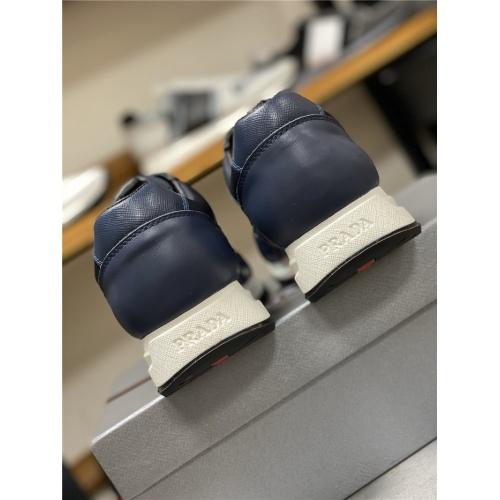 Replica Prada Casual Shoes For Men #828506 $85.00 USD for Wholesale