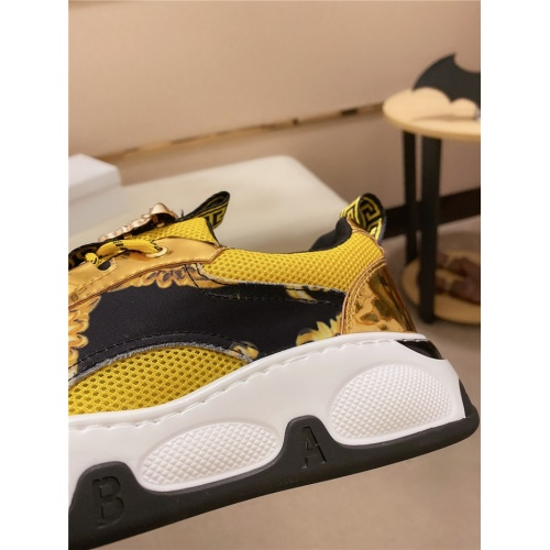 Replica Versace Casual Shoes For Men #828514 $80.00 USD for Wholesale