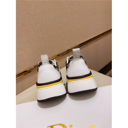 Replica Christian Dior Casual Shoes For Men #828521 $82.00 USD for Wholesale
