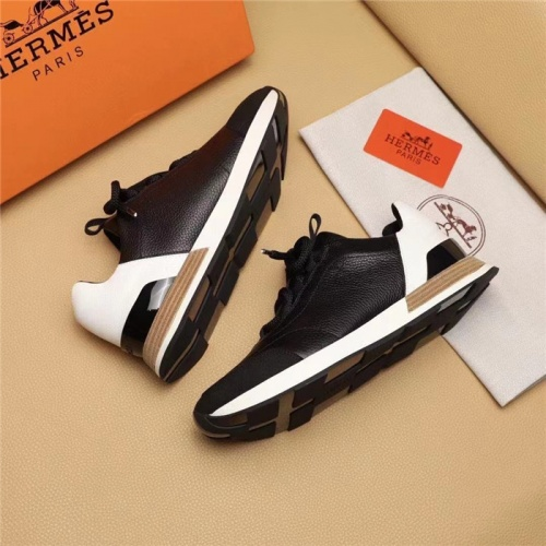 Replica Hermes Casual Shoes For Men #828564 $96.00 USD for Wholesale
