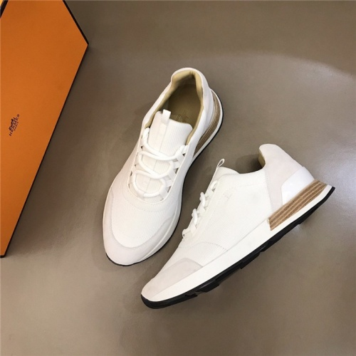 Hermes Casual Shoes For Men #828565 $96.00 USD, Wholesale Replica Hermes Casual Shoes