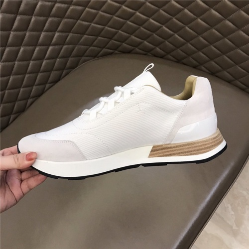 Replica Hermes Casual Shoes For Men #828565 $96.00 USD for Wholesale