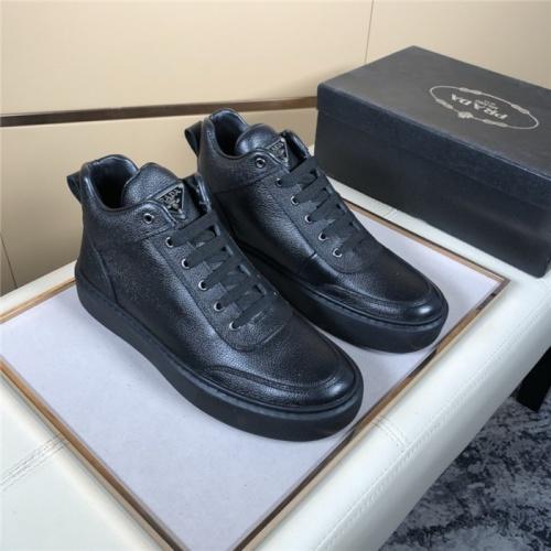 Prada High Tops Shoes For Men #828582