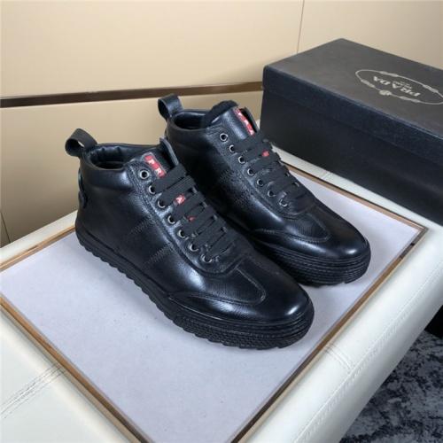 Prada High Tops Shoes For Men #828583