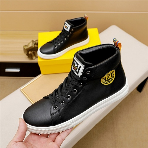 Fendi High Tops Casual Shoes For Men #828631