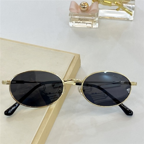 Cartier AAA Quality Sunglasses #828673