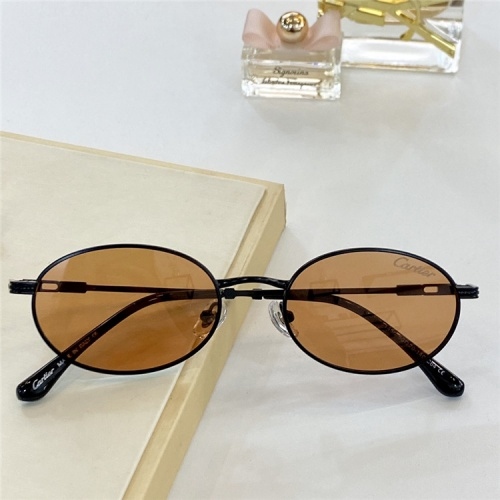Cartier AAA Quality Sunglasses #828675