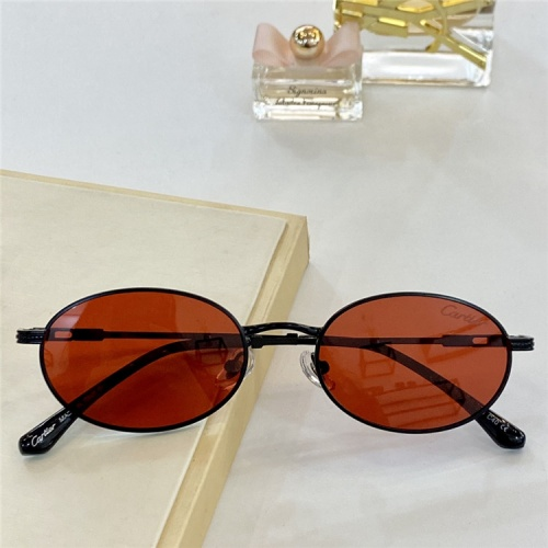 Cartier AAA Quality Sunglasses #828676
