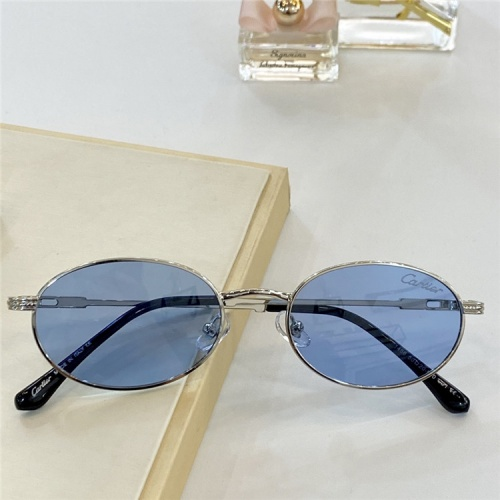 Cartier AAA Quality Sunglasses #828677