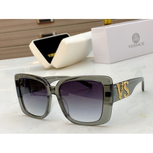 Versace AAA Quality Sunglasses #828720 $56.00 USD, Wholesale Replica Versace AAA+ Sunglasses