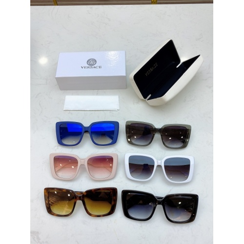 Replica Versace AAA Quality Sunglasses #828720 $56.00 USD for Wholesale