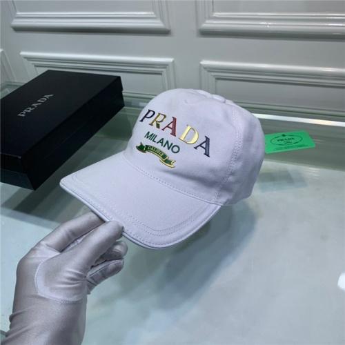 Prada Caps #828786 $36.00 USD, Wholesale Replica Prada Caps
