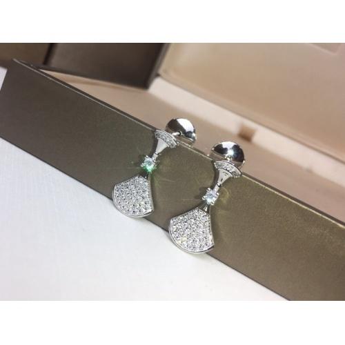 Bvlgari Earrings #828845 $32.00, Wholesale Replica Bvlgari Earrings