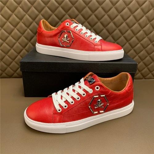 Philipp Plein PP Casual Shoes For Men #828895 $80.00, Wholesale Replica Philipp Plein Shoes