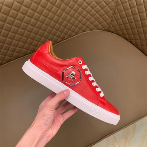 Replica Philipp Plein PP Casual Shoes For Men #828895 $80.00 USD for Wholesale