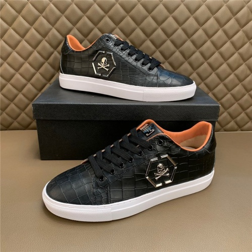 Philipp Plein PP Casual Shoes For Men #828896 $80.00 USD, Wholesale Replica Philipp Plein Shoes