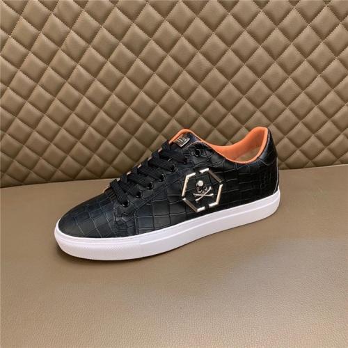 Replica Philipp Plein PP Casual Shoes For Men #828896 $80.00 USD for Wholesale