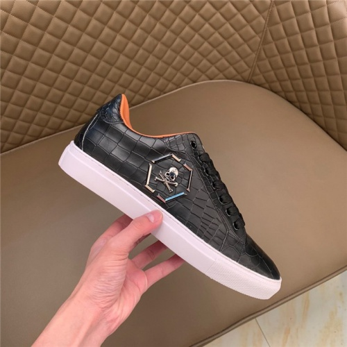 Replica Philipp Plein PP Casual Shoes For Men #828896 $80.00 USD for Wholesale
