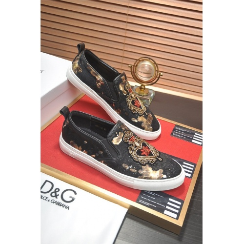 Dolce & Gabbana D&G Casual Shoes For Men #828937