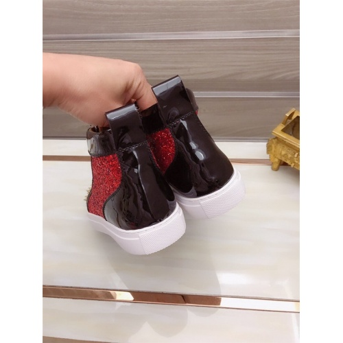 Replica Versace High Tops Shoes For Men #829124 $82.00 USD for Wholesale