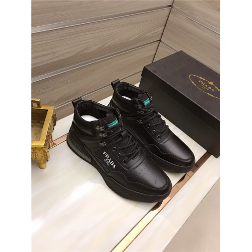 Prada High Tops Shoes For Men #829126